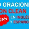 30 Oraciones Con El Verbo Clean ✔ Frases Con Clean Fáciles
