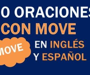 30 Oraciones Con Move En Inglés | Frases Con Move