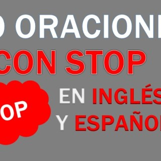 Oraciones Con Stop En Inglés