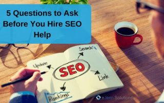 questions to ask your SEO company