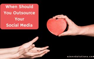 when should you outsource social media
