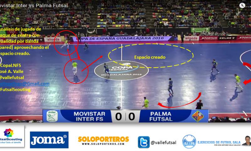 Análisis de Jugada de Saque de Centro de Fútbol Sala