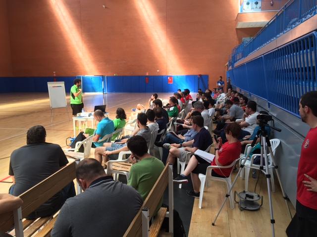 Fin de semana del III Clinic de entrenadores Torrejón Sala