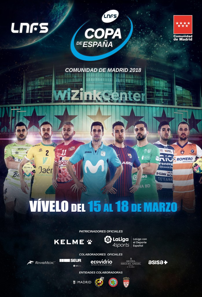 Cartel de la Copa de España 2018