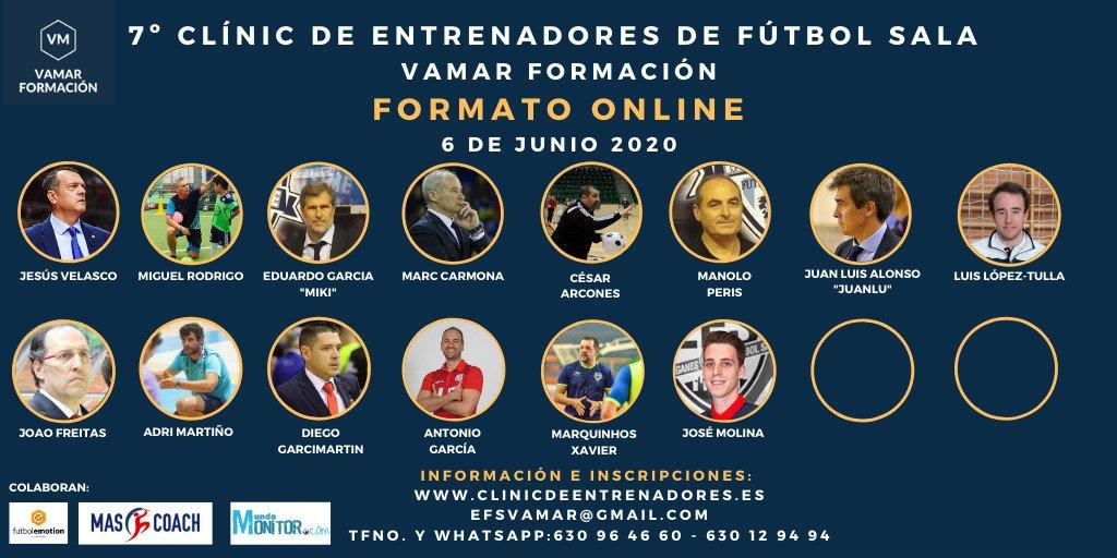 7º Clínic de Entrenadores de Fútbol Sala VaMar Formación