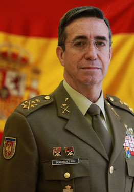 General Jefe de Estado Mayor del Ejército de Tierra D. JAIME DOMINGUEZ BUJ