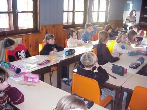 Salle de classe de la Jumenterie