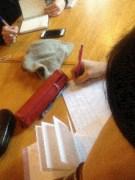 écrire à Sorbais pour écrire en classe