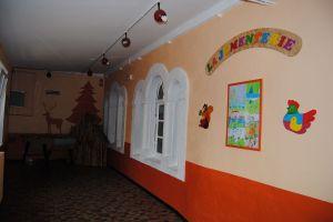 Le hall d'accueil de la Jumenterie