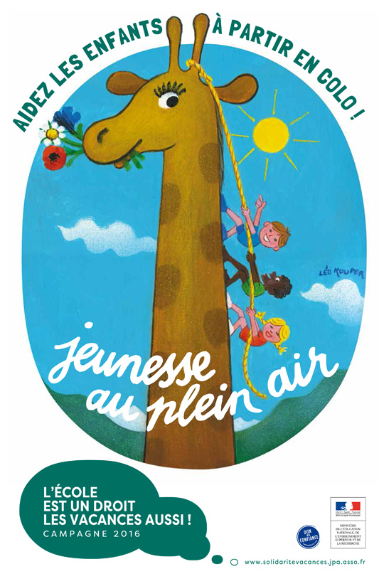 Campagne de solidarité de La Jeunesse au Plein Air 2016 – EJ'N sur le front !