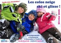 Les colos neige EJN 2016 - séjours ski et séjours trappeur