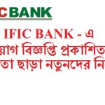 IFIC Bank New Job Circular 2016 Apply Online