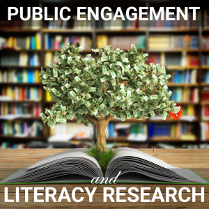 Image of a money tree on the cover of the public engagement and literacy research issue