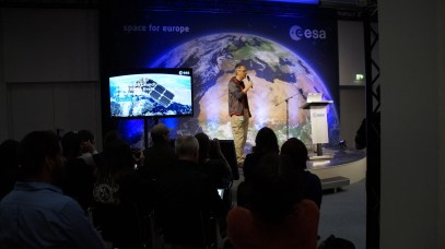 #Sentinel2Go Social Space launch event at ESOC. Credit: ESA/L.Guilpain