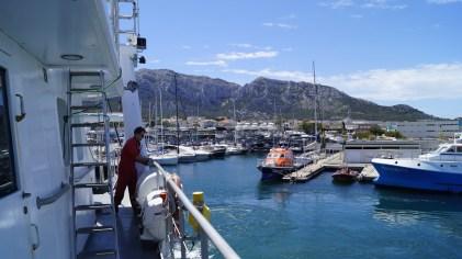 Marseille harbour. Credit: L. Guilpain
