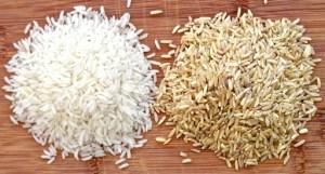 beras coklat vs beras putih
