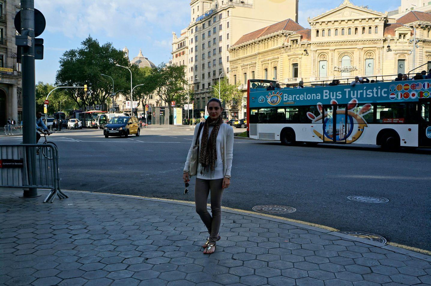 Plaza Catalunya Square