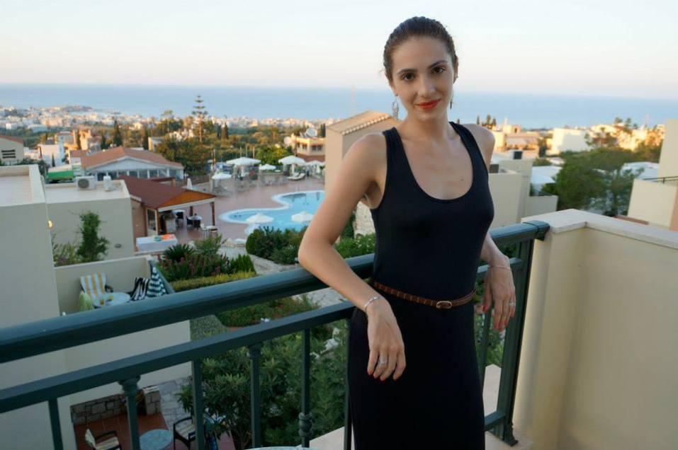 On our balcony - Crete Pilots Villas