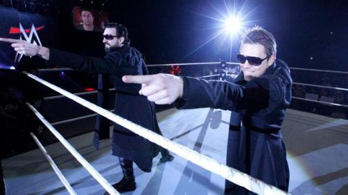 The Miz make their presence known