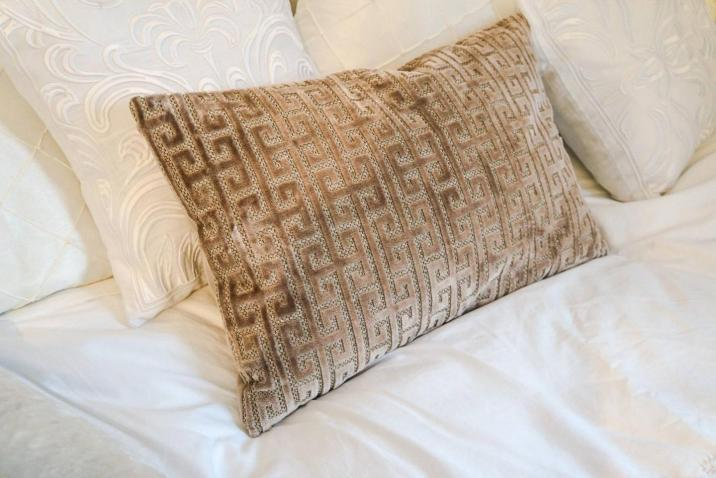 Greek Key Lovina Cushion