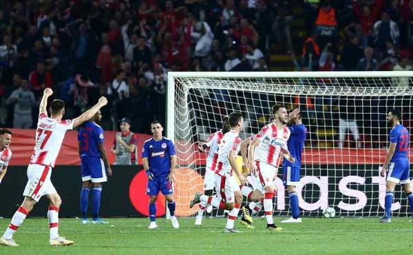 Olympiakos crumbles in second half to lose 3-1 at Red Star Belgrade, George Georgakopoulos | Kathimerini
