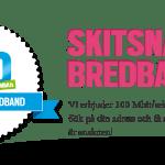 Skitsnabbt bredband – Fiberoptik