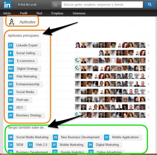 Linkedin en Skills e-Kikus.com