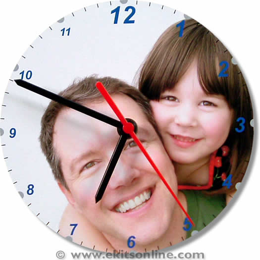 Father daughter Clock