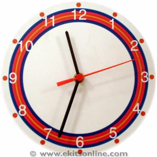 Rainbow ring Clock