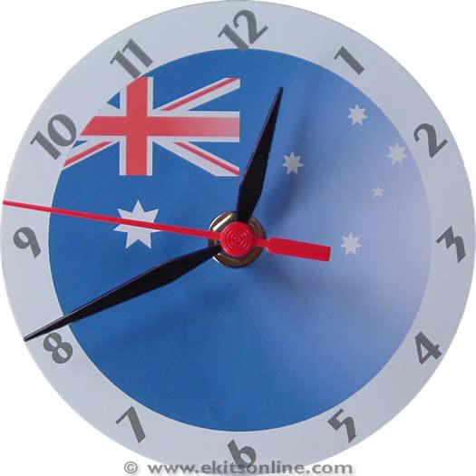 Australia Flag Clock