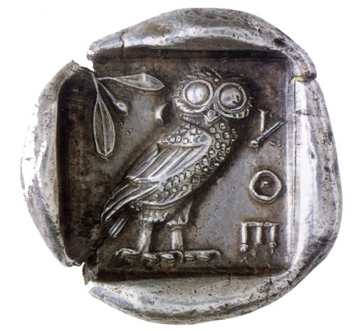 Αποτέλεσμα εικόνας για αρχαιο νομισμα κουκουβαγια