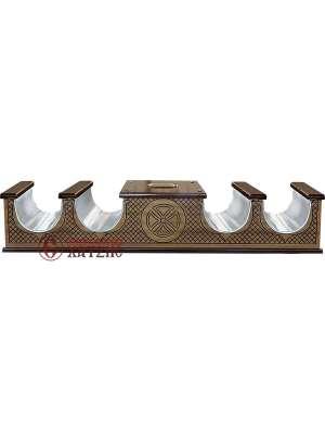 Κηροθήκη Χαρακτή Με Κουμπαρά 117-971