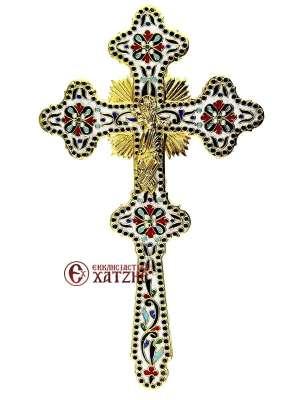 Σταυρός Ευλογίας Σμάλτο 70-644
