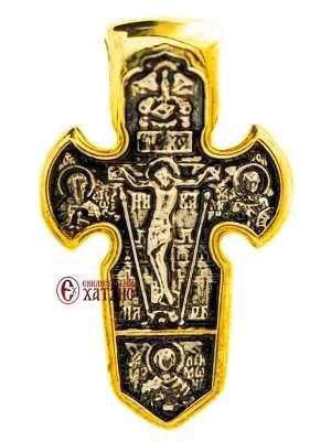 Σταυρός Ασημένιος Ιησούς Χριστός - Αρχάγγελος 01