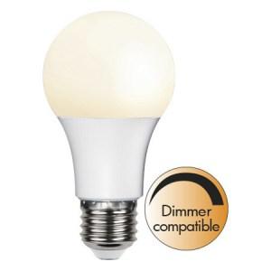 Led-Lampa E27 A60 Promo 6W. Dimmerkompatibel