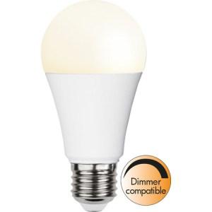 Led-Lampa E27 A60 Promo 9,5W. Dimmerkompatibel