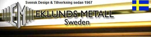 Takpendel Pernilla 3 Vit/Ek. Eklunds Metall