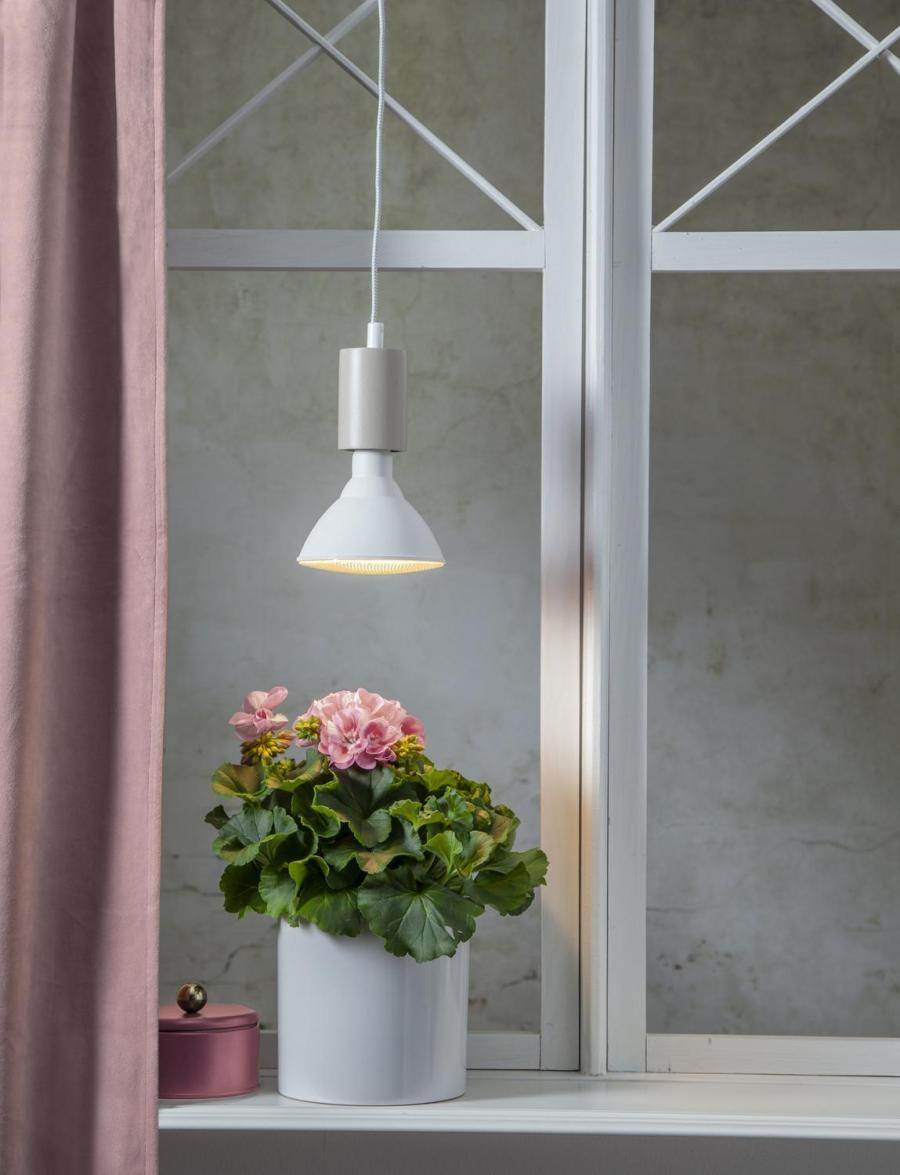 Växtlampa Trivas LED 16W E27 - Lämplig som underhållsbelysning