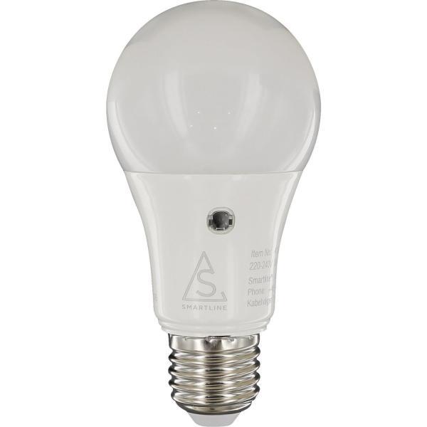 Sensorlampa Smartline LED E27 8,5W