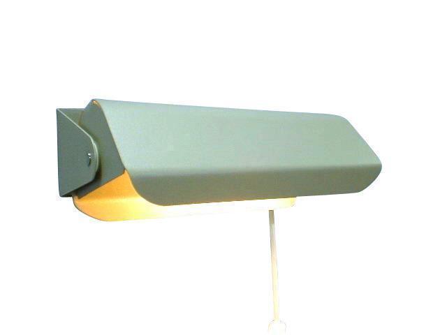 Vägglampa Martin Silvergrå. Eklunds Metall
