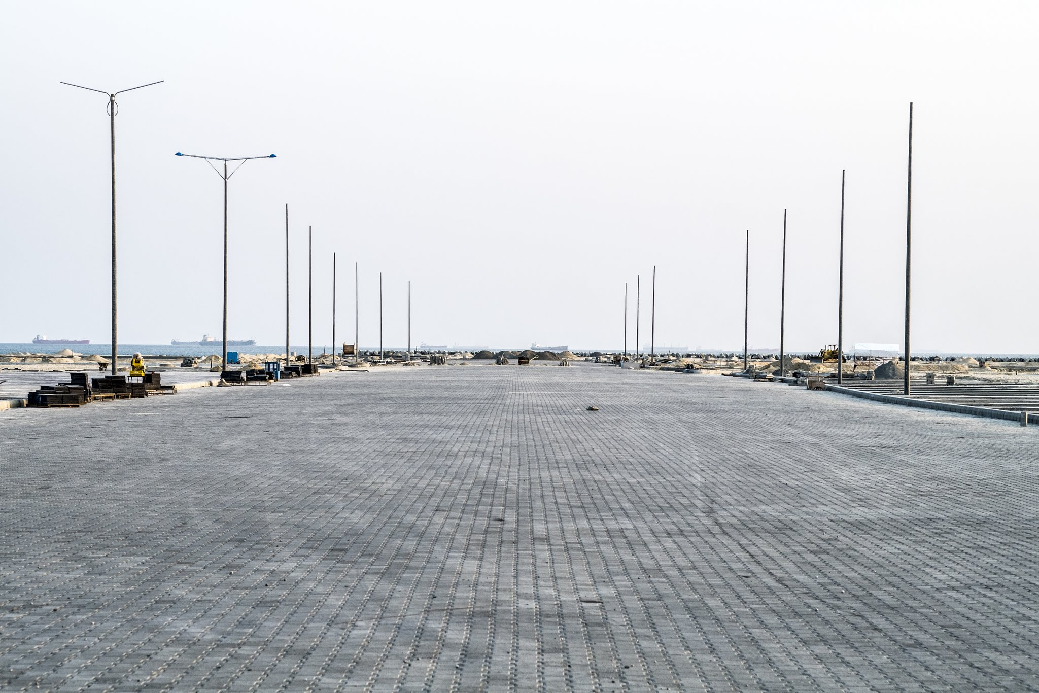Image result for eko atlantic construction work