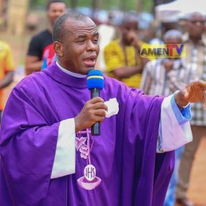 Adoration Ministry, Protest, You Should Apologise To Me, Bandits Can Kill You, Mbaka Tells Garba Shehu, Father Mbaka