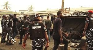 Lagos Begins Demolition Of Shanties, Shops Along Oshodi-Apapa Road