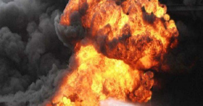 explosion, Ogun, Obasanjo Presidential Library, Gas Explosion