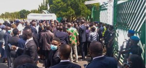 JUSUN Strike: Security Agents Bar Protesting Lawyers From National Assembly