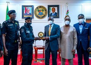 Sanwo-Olu Honours Policeman Assaulted By Traffic Violator