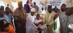 Hon Shamsideen Adeniyi Celebrates Golden Jubilee in Grand Style