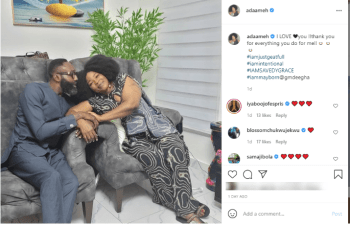 Nollywood Stars React As Colleague, Ada Ameh, Unveils New Lover
