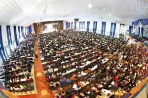 BREAKING: Security Operatives Arrest Punch Reporter At Dunamis Church In Abuja