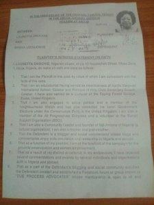 Lauretta Onochie: Document Reveals APC Membership Despite Denial At Senate Screening